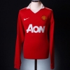 2010-11 Manchester United Home Shirt Giggs #11 *BNWT* L/S XL