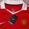 2010-11 Manchester United Home Shirt Giggs #11 *BNWT* L/S XXL