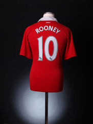 2010-11 Manchester United Home Shirt Rooney #10 M.Boys