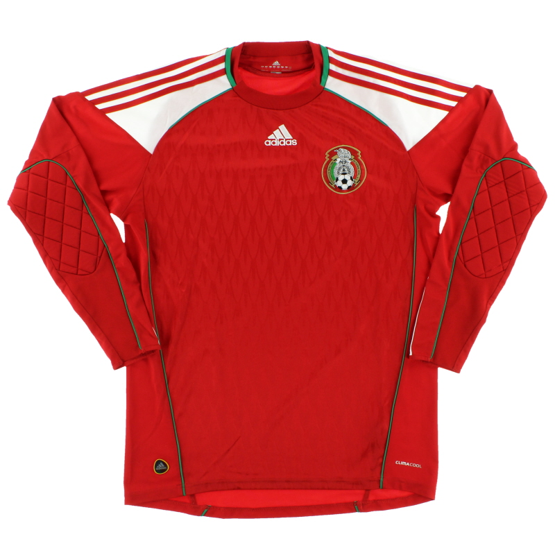 2010-11 Mexico Goalkeeper Shirt M