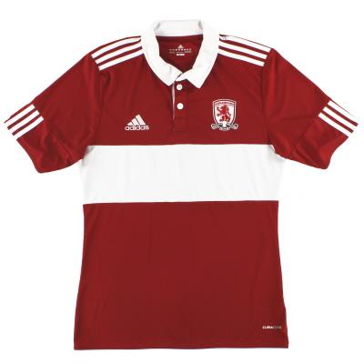 2010-11 Middlesbrough adidas Home Shirt S