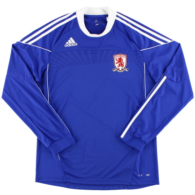 2010-11 Middlesbrough adidas Formotion Away Shirt L/S L