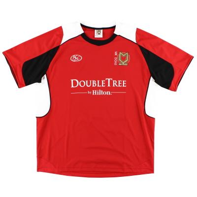 2010-11 MK Dons Away Shirt XXL
