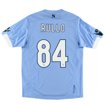 2010-11 Napoli Match Issue Home Shirt Rullo #84 L