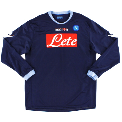 2010-11 Napoli Third Shirt #15 L/S L