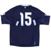 2010-11 Napoli Third Shirt #15 L/S L