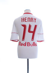 2010-11 New York Red Bulls Home Shirt Henry #14 L