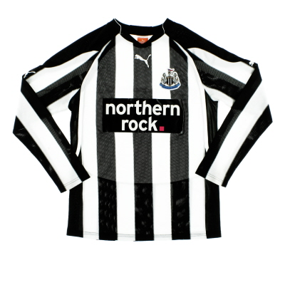 2010-11 Newcastle Puma Home Shirt L/S S