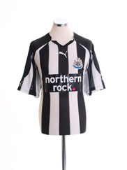 2010-11 Newcastle Home Shirt XL