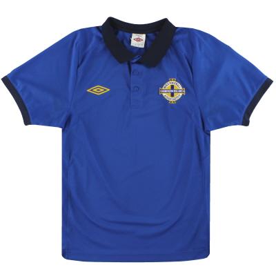 2010-11 Northern Ireland Umbro Polo Shirt S