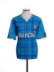 2010-11 Olympique Marseille Away Shirt L