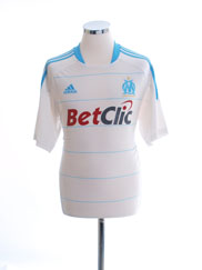 2010-11 Olympique Marseille Home Shirt M
