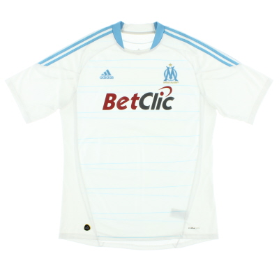 2010-11 Olympique Marseille Home Shirt XL