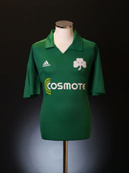 2010-11 Panathinaikos Home Shirt XL