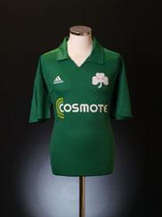 2010-11 Panathinaikos Home Shirt XL