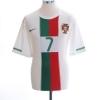 2010-11 Portugal Away Shirt Ronaldo #7 L