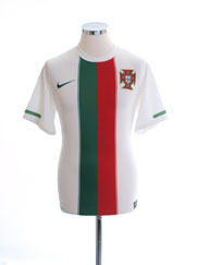 2010-11 Portugal Away Shirt S