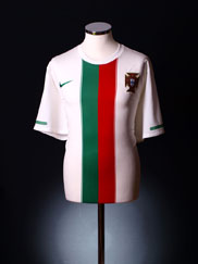 2010-11 Portugal Away Shirt XL