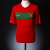 2010-11 Portugal Home Shirt Ronaldo #7 *As new* XL