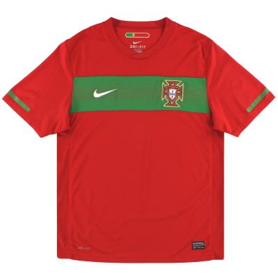 2010-11 Portugal Nike Home Shirt S