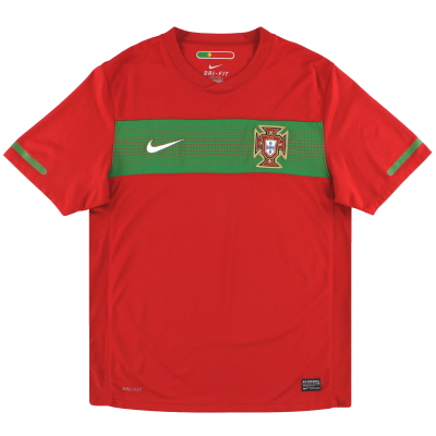 2010-11 Portugal Nike Home Shirt *Mint* S