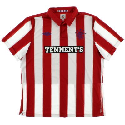 2010-11 Rangers Away Shirt XL