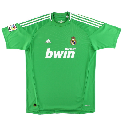 2010-11 Real Madrid adidas Goalkeeper Shirt *Mint* XL