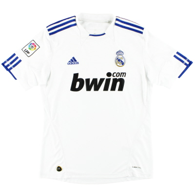 2010-11 Real Madrid adidas Home Shirt M