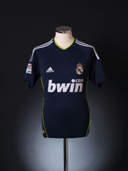 2010-11 Real Madrid Away Shirt Y