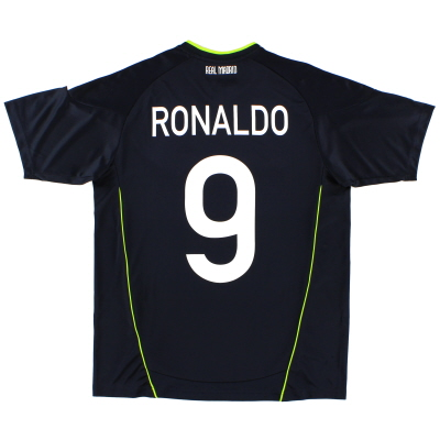 2010-11 Real Madrid Away Shirt Ronaldo #9 XL.Boys