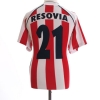 2010-11 Resovia Rzeszow Home Shirt #21 L