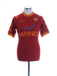 2010-11 Roma Home Shirt M