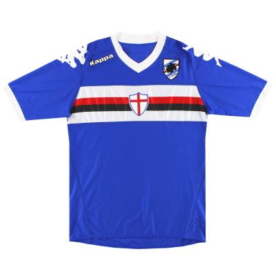 2010-11 Sampdoria Kappa Home Shirt *Mint* XL