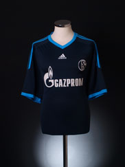 2010-11 Schalke Away Shirt  XL