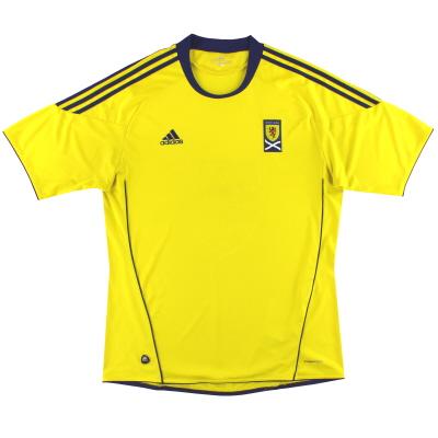 2010-11 Scotland adidas Away Shirt XL