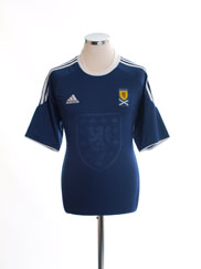 2010-11 Scotland Home Shirt *Mint* L