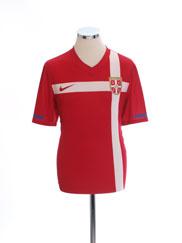 2010-11 Serbia Home Shirt M