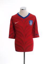 2010-11 South Korea Home Shirt L