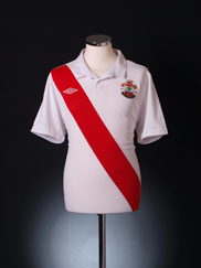 2010-11 Southampton '125 Years' Home Shirt S