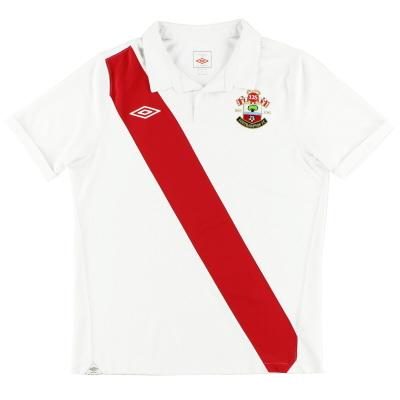 2010-11 Southampton Umbro '125 Years' Home Shirt M