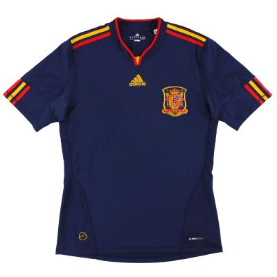 2010-11 Spain adidas Away Shirt M