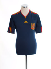 2010-11 Spain Away Shirt M