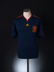 2010-11 Spain Away Shirt XL