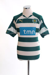 2010-11 Sporting Lisbon Home Shirt M
