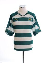2010-11 Sporting Lisbon Home Shirt XL