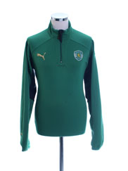 2010-11 Sporting Lisbon Puma Training Jacket M