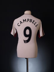 2010-11 Sunderland Away Shirt Campbell #9 M