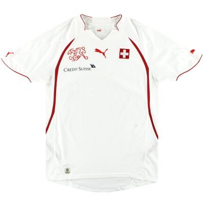 2010-11 Switzerland Puma Away Shirt M
