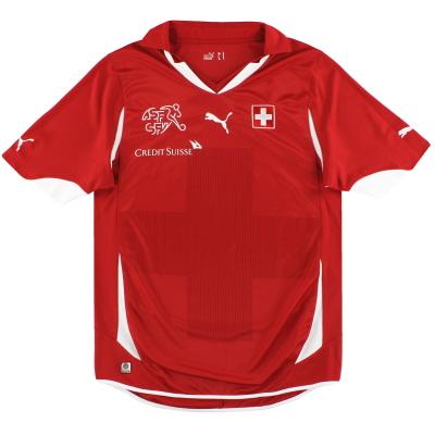 2010-11 Switzerland Puma Home Shirt *Mint* M