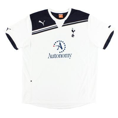 2010-11 Tottenham Puma Home Shirt *Mint* L